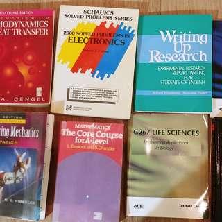 Multiple Engineering Textbooks For Sale
