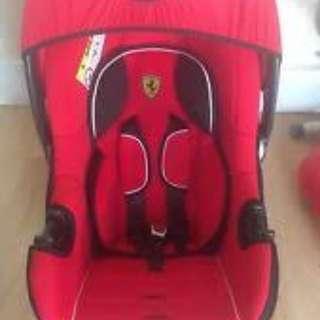 Ferrari beone baby car seat
