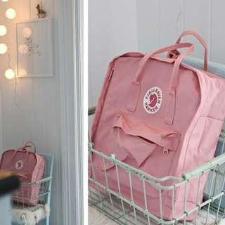 Blush pink Fjallraven Kanken Classic