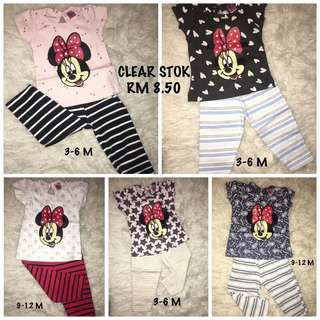 SET BLOUSE MINNIE