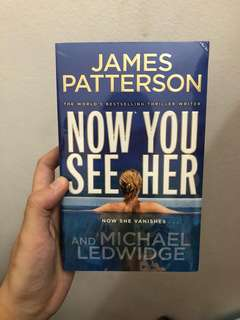 """Thriller - James Patterson """"Now You See Her"""""""
