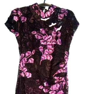Chinese Collared Dress