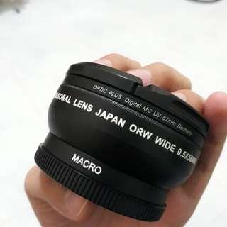 Lensa Adapter wide angle