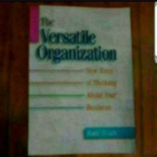 The Versatile Organisation Ruth Tearle
