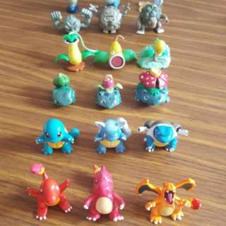 Pokemon Figurines by evolution