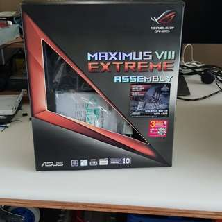 Asus Maximus VIII Extreme Assembly Z170 Gaming Motherboard