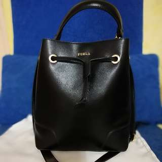 Further marked down - Furla Stacy Drawstring Bucket Small