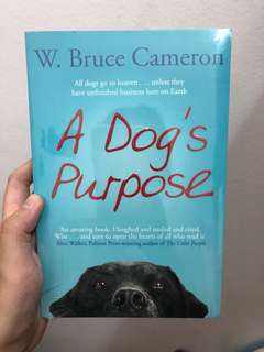 "Novel - ""A Dog's purpose"""