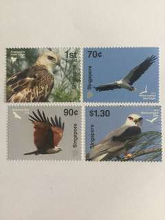 Singapore 2016 Birds of Prey mnh
