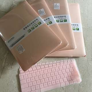 Macbook pastel pink casing