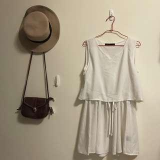 🚚 浪漫白色洋裝👗