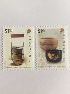 Singapore 2016 japan joint issue mnh