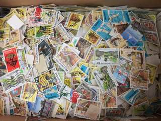 Assorted Vintage Stamps