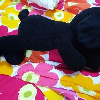 Uniqlo Snoopy & Kaws Black Peanuts Snoopy (Big) Soft Toy