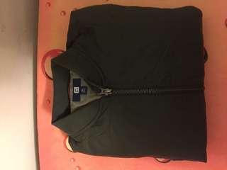 Uniqlo kids down jacket green size 130