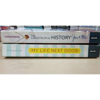 Book Sale!! 2 for 450 my life nxt door and catastrophic history of you and me