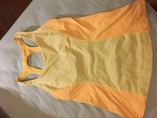 Lululemon Yellow top