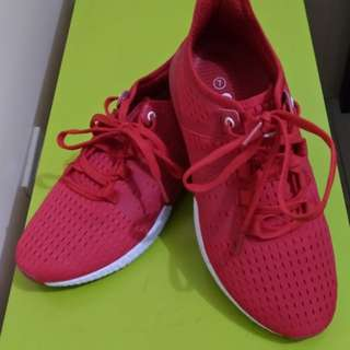 Red Lightweight Sneakers