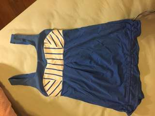 Lululemon Blue sport top
