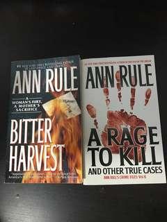 Ann Rule Crime Series