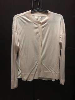 Shirt type cardigan
