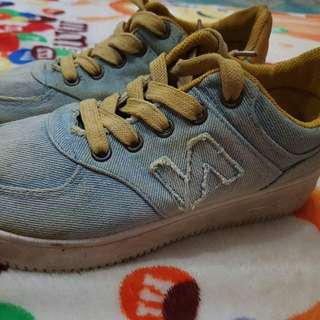 Limited Ed Denim New Balance