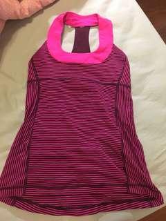 Lululemon pink top