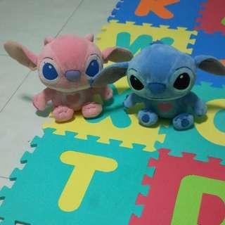 Angel and Stitch soft toy