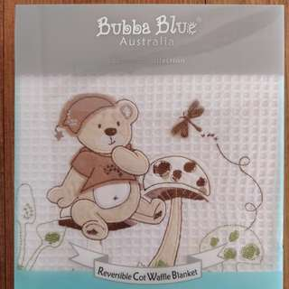 Bubba Blue baby blanket