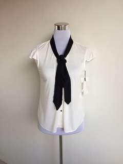 Rule Tie White Top