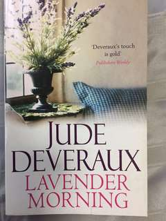 Lavender morning by Jude Devareux