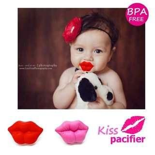 Kiss pacifier