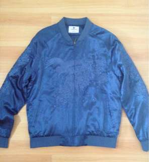 Standard Issue Blue Bomber Jacket BNWOT