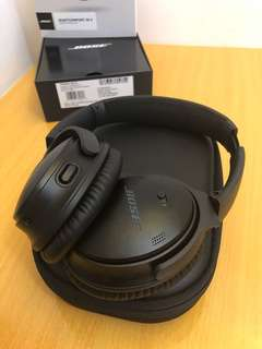 95% New Bose QuietComfort 35