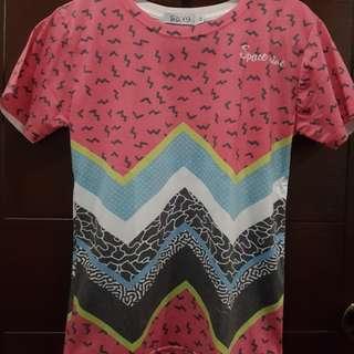 Loose Funky Printed Shirt
