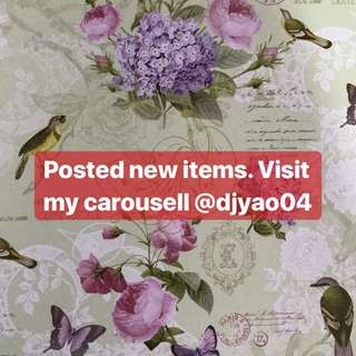 Check my carousell out ☺️