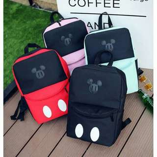 Preorder Mickey Mouse Backpack