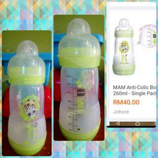MAM bottle single pack