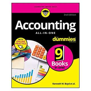 Accounting All-in-One For Dummies (For Dummies (Business & Personal Finance)) 2nd Edition, Kindle Edition by Kenneth W. Boyd (Author)