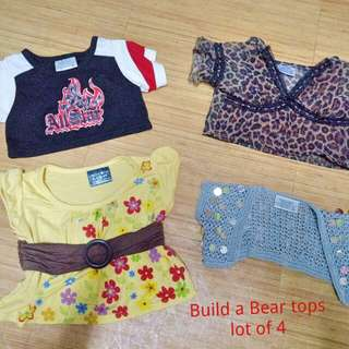 BAB Build a Bear CLOTHES