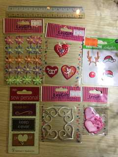 **All for $6** Assorted iron-on patches
