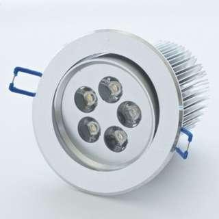 LED Down Light / LED Eye Ball 5 watt (Day Light) RM 12.00