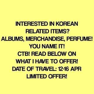 KOREA PERSONAL SHOPPER!