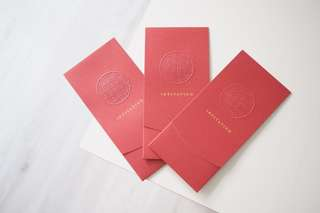 BN Pan Pacific Wedding Invitation Card & Envelope