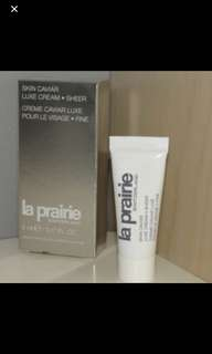 La prairie luxe cream sheer 5ml x 5