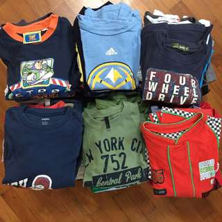 Boys clothes 3-6 years old