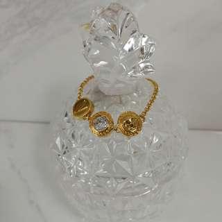 Authentic Versace Medusa Gold Bracelet