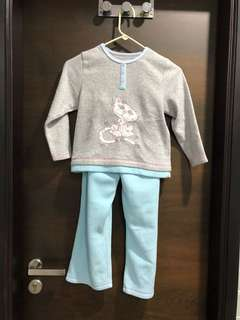 Cute pajamas for girls for cold weather