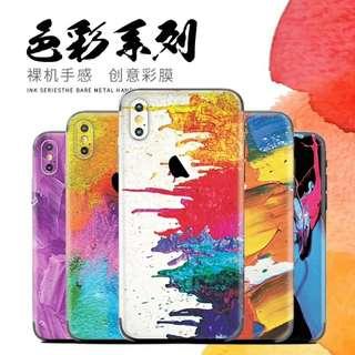 IPhone/Samsung 機背貼