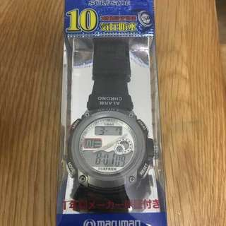 [new] Japan Made MARUMAN SurfsIde 100M DIVER WATCH SS307-GM1 NEW